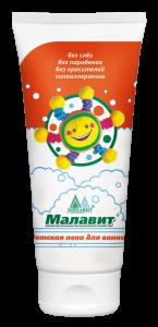 Детская пена для ванны «Малавит» СОЛНЫШКО, 200 мл