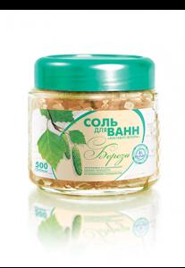 Соль для ванн «Береза» 500 г